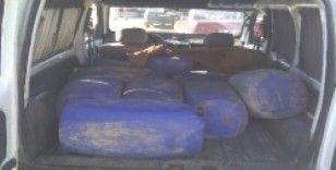 Kırıkhan'da 7 ton kaçak akaryakıt ele geçirildi