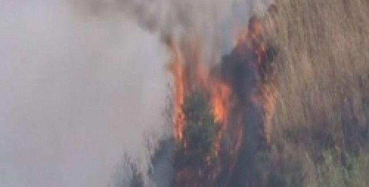 Gülnar'daki orman yangını kontrol altına alındı
