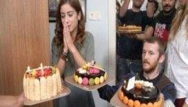 Hazal Kaya'ya dizi setinde sürpriz