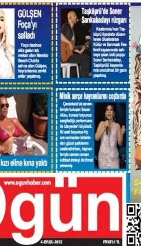 Ogün Gazetesi sayı:168