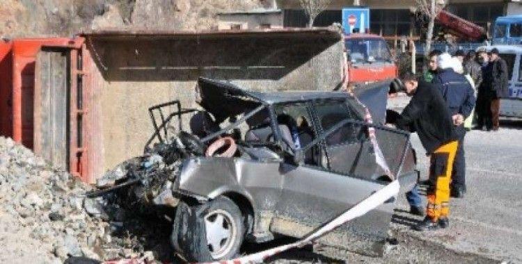Düğün yolunda kaza, 3 ölü, 2 yaralı
