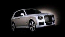 Rolls- Royce'un SUV'u 2017'de yollarda !