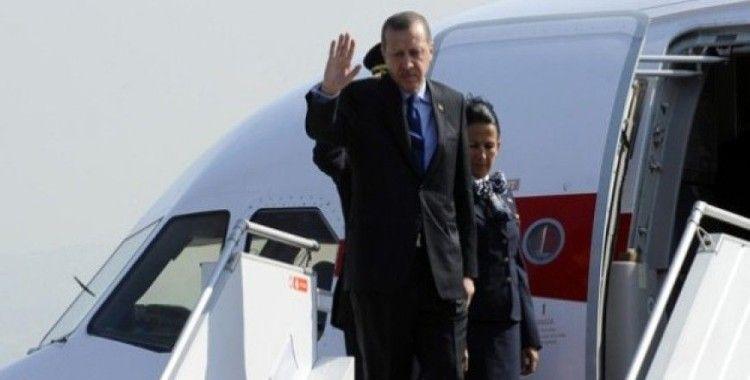 Erdoğan, Riyad'a geldi