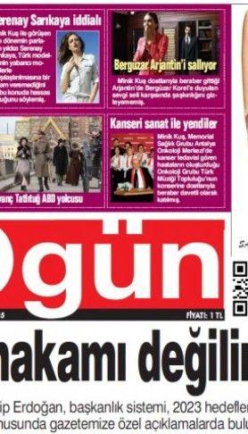 Ogün Gazetesi sayı:182