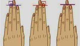 Parmak uzunluğunuz karakteriniz hakkında ne söylüyor?