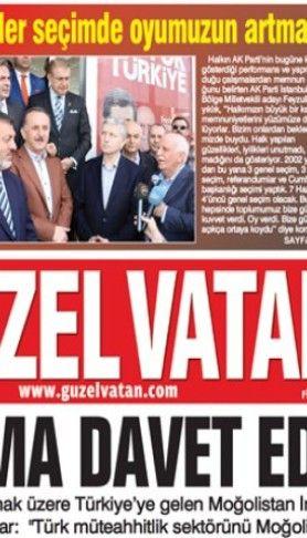 Güzel Vatan E-Gazete Sayı:76