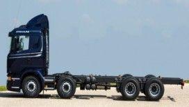 Scanıa 8x2 kamyonu Adana ve Mersin'de sergiledi