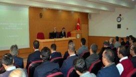 Aydın'da tarımsal yenilik ve bilgi sistemi grup toplantısı yapıldı