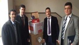 Nevşehir Ticaret Borsası'ndan ihtiyaç sahibi öğrencilere kışlık mont yardımı