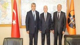 Başkan Çalışkan ve Turası'dan Bölge Müdürü Yazıcıoğlu'na ziyaret