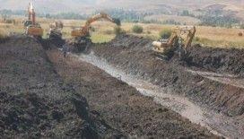 Erzurum Ortabahçe sulaması ile bölge topraklarının verimi artacak