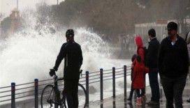 Meteorolojiden 'kuvvetli lodos' uyarısı