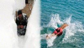 Türkiye kara teslim Antalya denizin tadını çıkarıyor