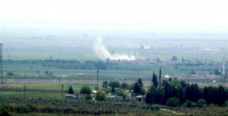 IŞİD mevzileri fırtına obüs topları tarafından vuruluyor