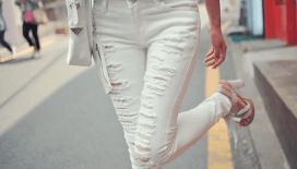 Beyaz pantolon trendi