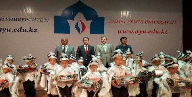 Ahmet Yesevi Üniversitesi'nde sünnet şöleni