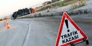 TEM Akyazı gişelerde kaza, 4 yaralı