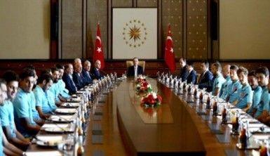 A Milliler Cumhurbaşkanı Erdoğan'la görüştü