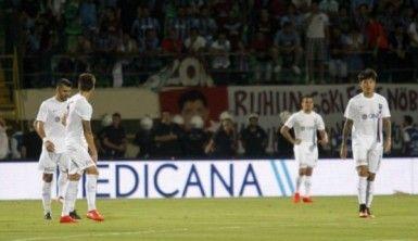 Trabzonspor farklı kaybetti