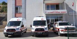 Tunceli'ye 1'i zırhlı 3 ambulans gönderildi