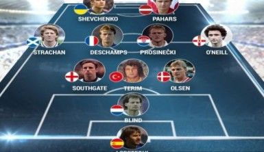 UEFA'nın en iyi 11'inde Türkiye'den de bir isim var