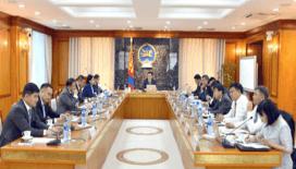 Moğolistan Bakanlar Kurulu toplandı