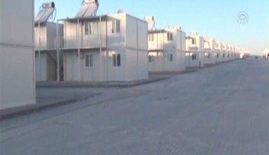 Sığınmacılar için otel konforunda konteyner kent