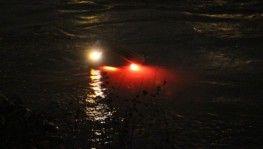 Otomobiliyle nehre uçtu, boğulmaktan son anda kurtuldu