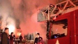 İstanbul'da Suriyelilerin kaldığı evde yangın 3 yaralı