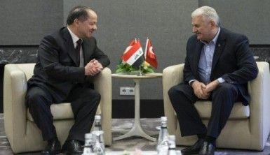Yıldırım-Barzani görüşmesinde neler konuşuldu