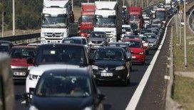Türkiye'de her bin kişiye 150 araç düşüyor