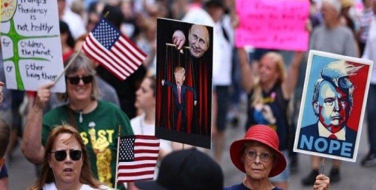ABD'de Trump protestosu