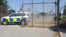 Güney Kıbrıs'ta İngiliz askeri üssüne saldırı