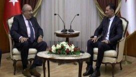 Türkeş, Başbakan Özgürgün'le görüştü