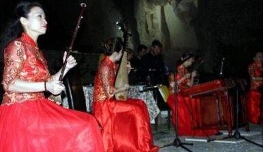 Kapadokya'da Çin müziği rüzgarı