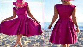 Yazın sevileni midi boy elbiseler