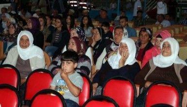 Çocuklar ilk kez sinema heyecanı yaşadı