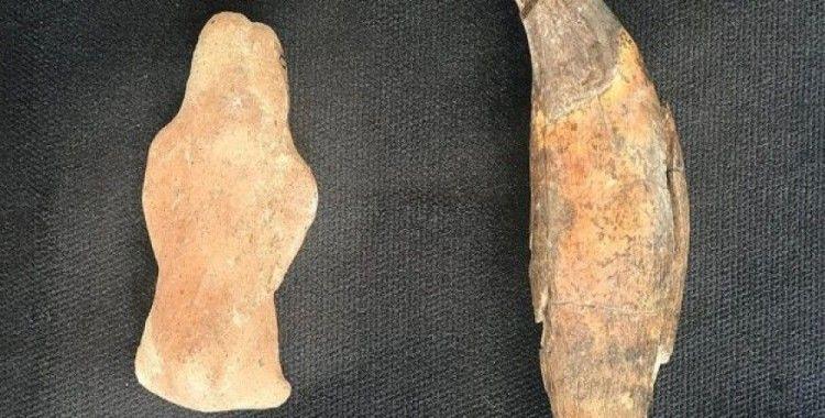 8 bin yıllık ayı heykelciği bulundu