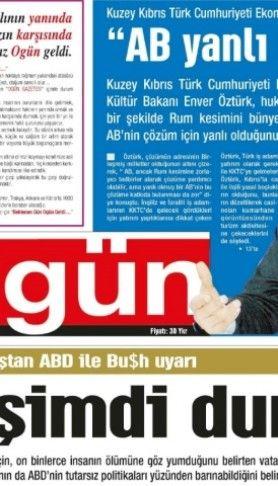 Ogün Gazetesi sayı: 2