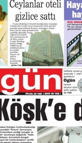 Ogün Gazetesi sayı: 15