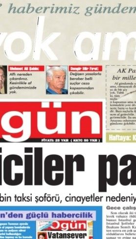 Ogün Gazetesi sayı: 38