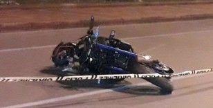 Motosikletli genç kazada hayatını kaybetti