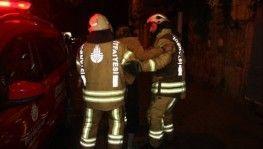 Beyoğlu'nda otelde yangın, 6 yaralı