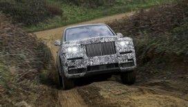 Rolls-Royce'un yeni motorlu aracı 'Cullinan'