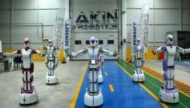 Yerli insansı robotlar 'oyun havası'na girdi