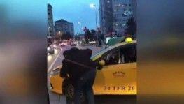 Alkollü taksi sürücüsü Kadıköy'ü birbirine kattı