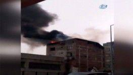 Sultangazi'de çıkan iki farklı yangın paniğe neden oldu