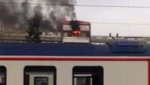 İzmir'de otel alev alev yandı, 4 yaralı
