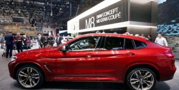 BMW X4 Cenevre'de