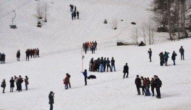 Kar Şenliği renkli görüntülere sahne oldu